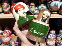 Rusia: matrioskas no tan tradicionales