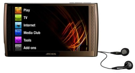 Archos  piensa en un reproductor con pantalla OLED
