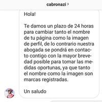 La fina ironía de que Cabronazi amenace a un usuario de Instagram por llamarse Cabroworld desde 2016