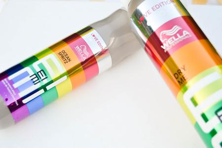 Probamos el champú en seco y el spray de mar de Wella en su edición 'Love Edition'
