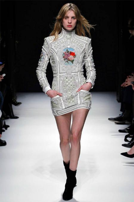 Balmain otoño-invierno 2012/2013: ¿aceptamos Balmain como marca cool?