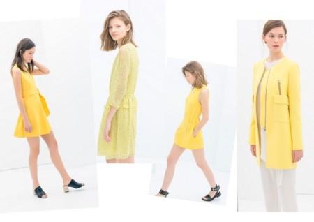 Zara tendencias low cost amarillo