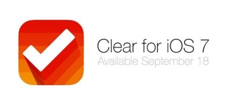 Clear for iOS 7 se anuncia pero será una app nueva y habrá que volver a pagar por ella