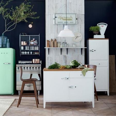 Cambia el 'look' de tu cocina con la isla Cabin Kitchen Island