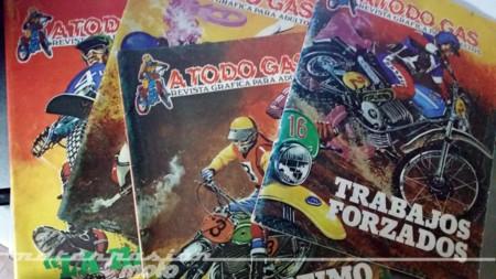 Especial comics y motos: A Todo Gas de Producciones Editoriales