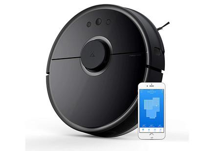 Roborock S5 Robot Aspirador Y Fregona Robot Aspirador Con Aspiracion Potente De 2000pa Y Conectividad Wi Fi
