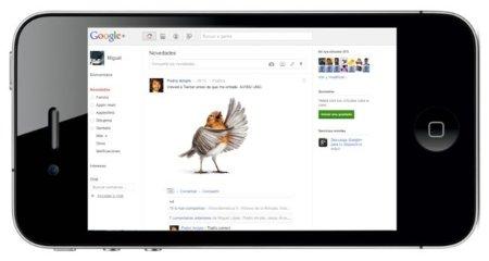 La aplicación de Google+ para iOS, esperando la aprobación de Apple