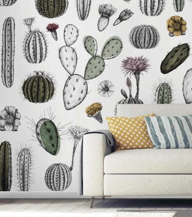 Naturalis de Wallpepper renueva las ilustraciones clásicas con flores, frutos y animales marinos