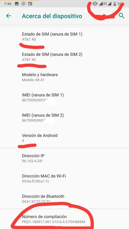 Xiaomi Mi A1 4g Mexico Update