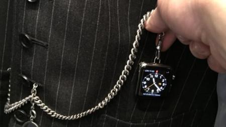 El diseñador de moda Tom Ford convierte el Apple Watch en un reloj de bolsillo