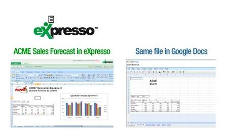 eXpresso aumenta la compatibilidad con Microsoft Excel