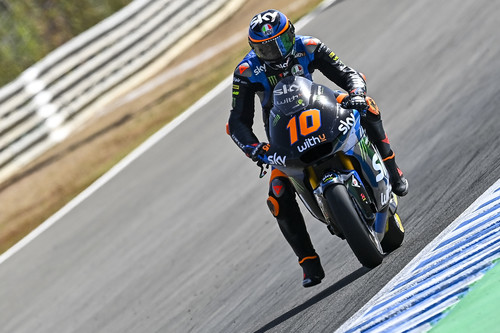 Luca Marini impone su ley en Jerez y Jorge Martín consigue rescatar el primer podio de la temporada