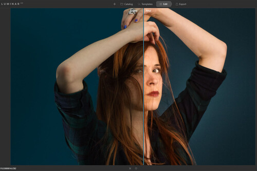 Luminar AI: primeras impresiones probando las herramientas de edición de retrato del editor basado en inteligencia artificial.