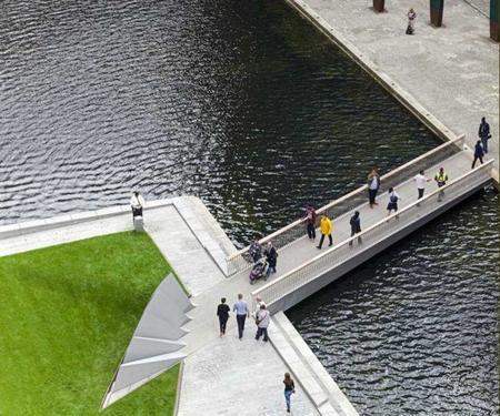 Paddington Footbridge 1