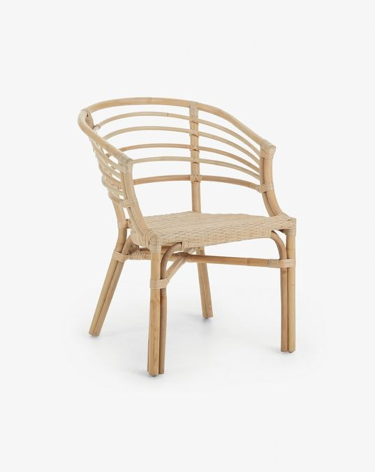 Dewi chair natural