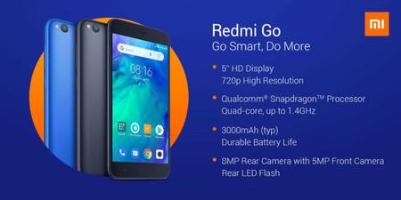 Redmi Go: así es el primer smartphone con Android Go de Xiaomi que nos gustaría ver en México