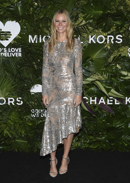 golden heart gala look estilismo outfit Gwyneth Paltrow