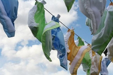 ¿Son más ecológicos los pañales de tela?