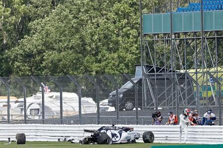 Kvyat Silverstone F1 2020
