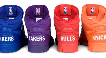 Adidas rinde tributo a la NBA