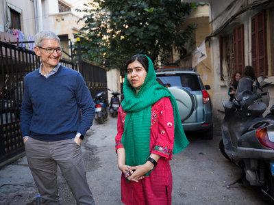 Apple anuncia que colaborará con la fundación Malala para impulsar el derecho de las mujeres a la educación