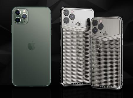 Caviar ya tiene listos sus iPhone 11 Pro con oro, piel de cocodrilo y 64 GB de memoria por hasta 28.000 euros