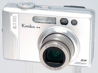 Kenko DSC8341, con 8 megapíxeles de resolución