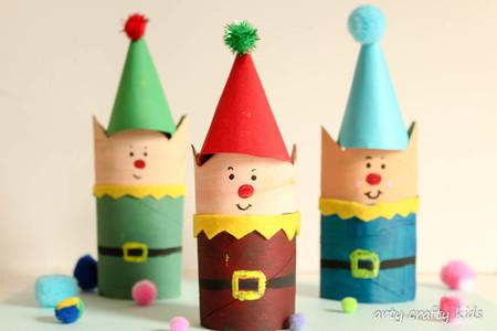 Diy Navidad 03 Arbolito Huellas