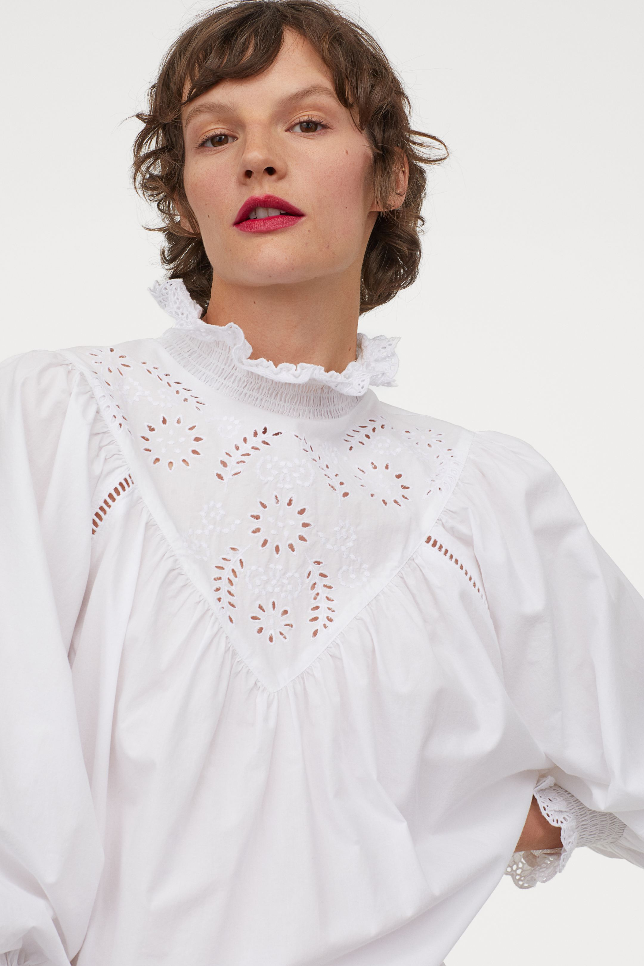 Blusa XL con detalles bordados