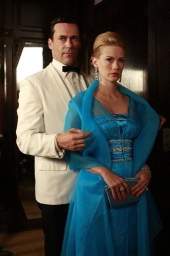 El estilo de Jon Hamm, Don Draper en la serie Mad Men: elegancia sesentera, blanco