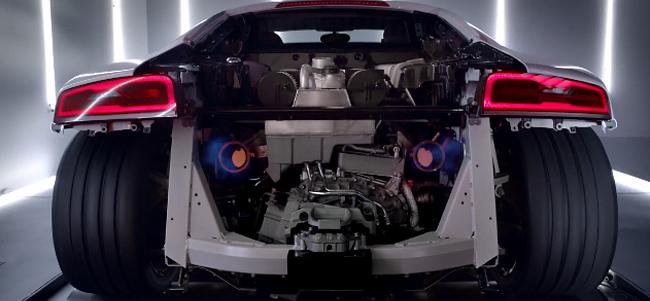 Un poco de porno en forma de Audi R8 V10 Plus