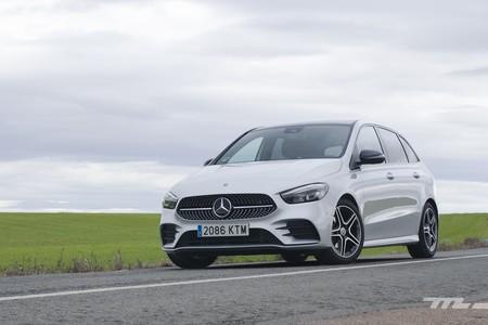 Mercedes Benz Clase B 2019 Prueba 014
