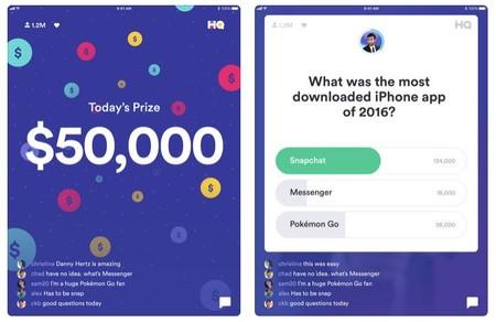 Ya puedes participar en el concurso de HQ Trivia desde el iPad
