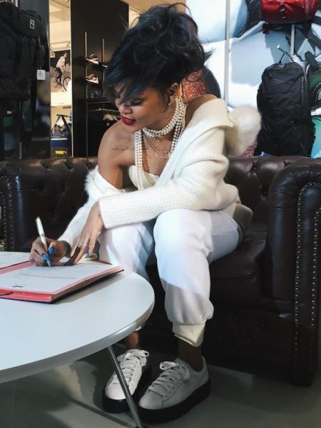 Rihanna no solo canta, ahora es la directora creativa de Puma