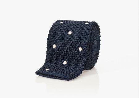 Corbata tricot topos