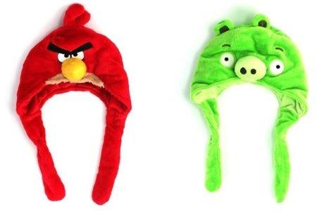 Los gorros de Angry Birds te abrigan las orejillas
