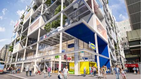 Ikea urban store sostenible