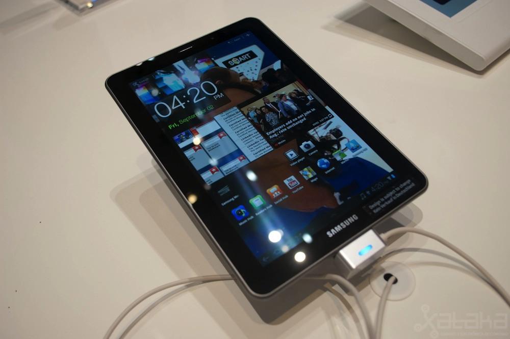 Samsung Galaxy Tab 7.7 en IFA 2011