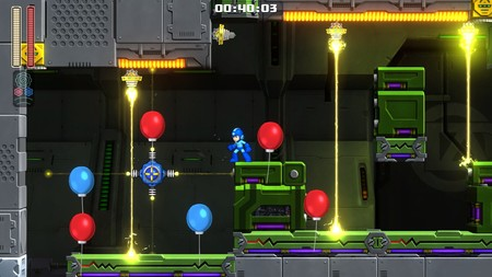Mega Man 11 Balloon Attack