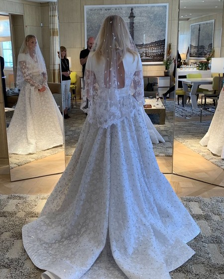 Misterio desvelado: así es el vestido de novia de Sophie Turner