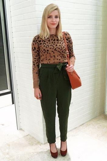 leopardo zara sweater