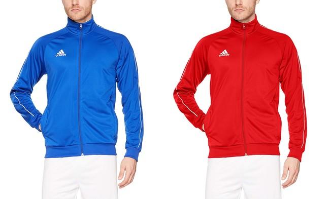 Desde 16,26 euros podemos estrenar esta chaqueta deportiva Adidas Core18 PES Jkt Jacket gracias a Amazon