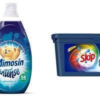 Ofertas del día en limpieza de la ropa y colada: packs de Skip y Mimosin rebajados hasta un 25%