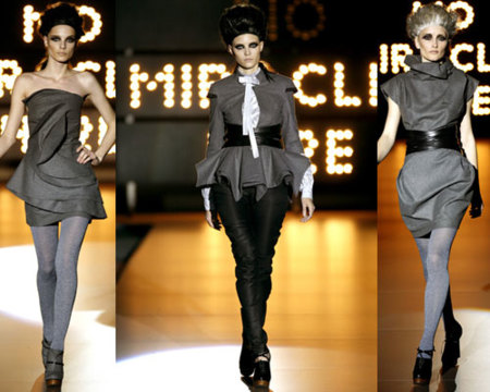 Ana Locking en la Cibeles Fashion Week Otoño-Invierno 09/10
