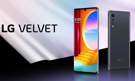 La velocidad 5G del LG Velvet está más barata que nunca en Amazon: 439,85 euros con envío gratis