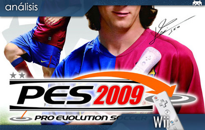 'Pro Evolution Soccer 2009' (Wii). Análisis