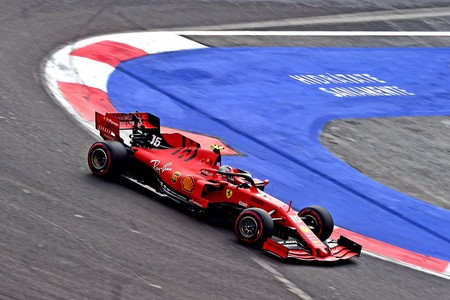 Leclerc Mexico F1 2019