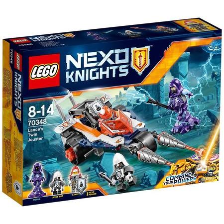 Doble lanza justiciera de Lance, de Lego Nexo Knights, a su precio mínimo: 11,50 euros