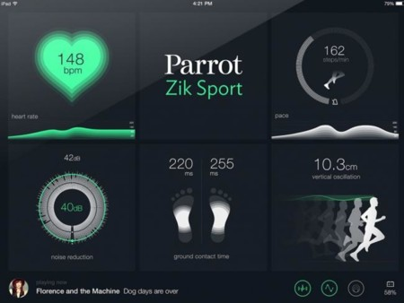 Apps Parrot Ziksport Ipadmini Hd 0