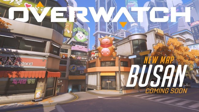 Overwatch presenta Busan, el nuevo mapa de control que está disponible en la RPP